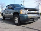 2008 Blue Granite Metallic Chevrolet Silverado 1500 LT Crew Cab #58915053