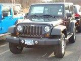 2012 Black Jeep Wrangler Sport S 4x4 #58915023