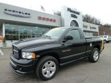 2004 Black Dodge Ram 1500 Rumble Bee Regular Cab 4x4 #58915364