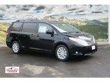 2012 Black Toyota Sienna Limited AWD #58914998