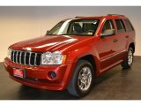 2006 Inferno Red Crystal Pearl Jeep Grand Cherokee Laredo #58915620