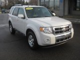 2009 White Suede Ford Escape Limited #58915332