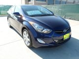 2012 Indigo Night Blue Hyundai Elantra Limited #58915254