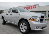 2012 Bright Silver Metallic Dodge Ram 1500 Express Quad Cab #58915227