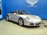 2008 Arctic Silver Metallic Porsche 911 Carrera 4S Cabriolet #58969639
