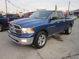 2011 Deep Water Blue Pearl Dodge Ram 1500 Big Horn Quad Cab 4x4 #58969896