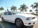 2011 Performance White Ford Mustang V6 Premium Convertible #58969858