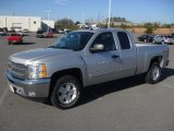 2012 Silver Ice Metallic Chevrolet Silverado 1500 LT Extended Cab 4x4 #58969965