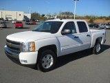 2011 Summit White Chevrolet Silverado 1500 LT Crew Cab 4x4 #58969964