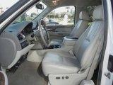 2008 Chevrolet Silverado 1500 LTZ Extended Cab 4x4 Light Titanium/Dark Titanium Interior