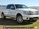 2011 White Platinum Metallic Tri-Coat Ford F150 Platinum SuperCrew 4x4 #59001923