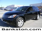 2007 Super Black Nissan Murano S #59001785
