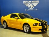 2007 Grabber Orange Ford Mustang GT Premium Coupe #59001902