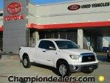 2008 Super White Toyota Tundra Double Cab #59002019