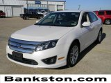 2011 White Platinum Tri-Coat Ford Fusion SEL V6 #59001719