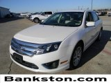 2011 White Platinum Tri-Coat Ford Fusion SEL V6 #59001718