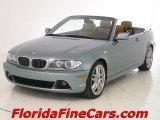 2004 Grey Green Metallic BMW 3 Series 330i Convertible #5885526