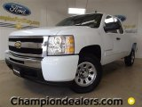 2009 Summit White Chevrolet Silverado 1500 LS Extended Cab #59001985