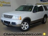 2003 Oxford White Ford Explorer Eddie Bauer #59001974