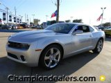 2012 Silver Ice Metallic Chevrolet Camaro LT/RS Coupe #59001839