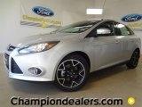 2012 Ingot Silver Metallic Ford Focus Titanium Sedan #59001960