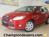 2012 Red Candy Metallic Ford Focus SE 5-Door #59001959