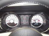 2012 Ford Mustang C/S California Special Coupe Gauges
