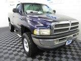 Intense Blue Pearl Dodge Ram 1500 in 1999