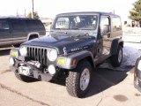 2007 Jeep Wrangler Steel Blue Metallic