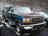 Pacific Green Metallic Ford F150 in 1996