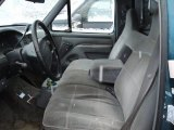1996 Ford F150 XLT Regular Cab 4x4 Grey Interior