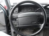 1996 Ford F150 XLT Regular Cab 4x4 Steering Wheel