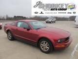 2007 Redfire Metallic Ford Mustang V6 Deluxe Coupe #59026155