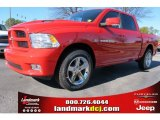 2012 Flame Red Dodge Ram 1500 Sport Crew Cab #59025999
