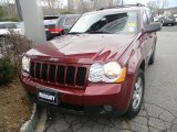 2008 Red Rock Crystal Pearl Jeep Grand Cherokee Laredo 4x4 #59026134