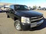 2009 Black Chevrolet Silverado 1500 LT Extended Cab #59026115