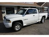 2001 Bright White Dodge Ram 1500 Sport Club Cab 4x4 #59026107