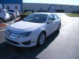 2011 White Suede Ford Fusion SE V6 #59026206