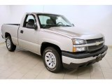 2006 Silver Birch Metallic Chevrolet Silverado 1500 Work Truck Regular Cab #59054249