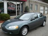 2002 Onyx Green Pearl Chrysler Sebring LX Sedan #5895809