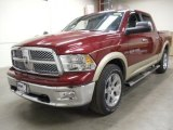 2011 Deep Cherry Red Crystal Pearl Dodge Ram 1500 Laramie Crew Cab 4x4 #59054487