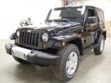 2012 Black Jeep Wrangler Sahara 4x4 #59054486