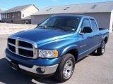 2003 Atlantic Blue Pearl Dodge Ram 1500 SLT Quad Cab 4x4 #5882990