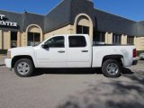 2009 Summit White Chevrolet Silverado 1500 Hybrid Crew Cab #59054204