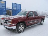 2007 Sport Red Metallic Chevrolet Silverado 1500 Classic LT Extended Cab 4x4 #59053912