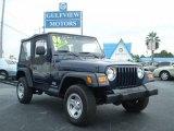 2006 Midnight Blue Pearl Jeep Wrangler SE 4x4 #544716
