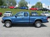 2004 Atlantic Blue Pearl Dodge Dakota SXT Club Cab 4x4 #59053880
