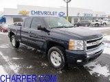 2009 Imperial Blue Metallic Chevrolet Silverado 1500 LT Extended Cab 4x4 #59054431