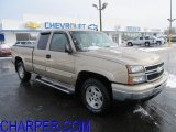 2006 Sandstone Metallic Chevrolet Silverado 1500 Z71 Extended Cab 4x4 #59054430