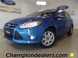 2012 Blue Candy Metallic Ford Focus SE Sedan #59053842